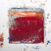 Monotype No. 3  color, water-based ink on paper