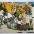 Celia-Reisman-Half-Fall-Study-gouache-and-graphite-on-paper-1500