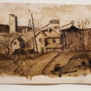 E.-M-Saniga-House-and-Mine-ink-on-paper-9-x-7-inches-1200