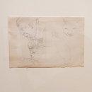E.-M.-Saniga-Karen-and-Cats-pencil-on-paper-5.5-x-8.5-inches-800